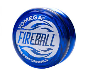 NEW Yomega High Performance YoYos YoYo Yo-Yo Yo - FIREBALL BLUE - Player Level