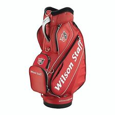 BRAND NEW 2016 Wilson Staff Pro tour cart Staff bag red 10 x 9 inch