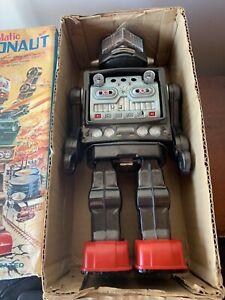 Horikawa ,Swivel-o-matic ,Astronaut ,robot , Japan,box, 1960's,battery Operated
