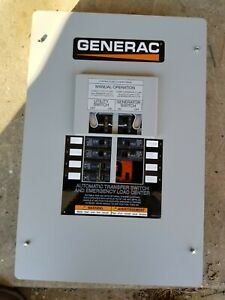 USED - Generac Automatic Transfer Switch w/ Built-In Load Center