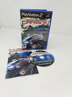 Need for Speed Carbon PS2 Playstation 2 Racing Video Game Manual free post
