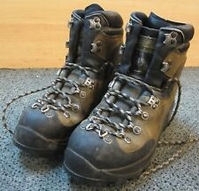 Women's Brown La Sportiva Lace-Up Mountaineering Mountain Boots Size 38.5/7.5 US