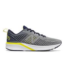 Men's New Balance 870v5 Running Shoe Wide 2E Gunmetal/Pigment/Sulphur Yellow