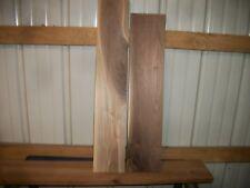2 Pc Walnut Lumber Wood Kiln Dried Boards Lot 485Z