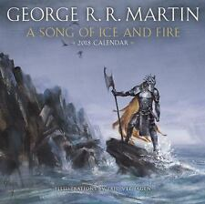 A SONG OF ICE AND FIRE 2018 CALENDAR - MARTIN, GEORGE R. R. - NEW BOOK