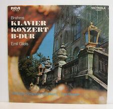 "BRAHMS KLAVIER KONZERT B-DUR EMIL GILELS FRITZ REINER 12""LP(e307)"