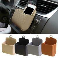Car Air Outlet Storage Bag Mini Hanging Phone Storage Bucket S3B9