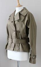 ALL SAINTS Azure short trench coat jacket belted UK10 US8 EU38