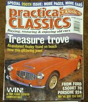 Practical Classics September 1996, Ford Zephyr Convertible, Austin Healey 3000,