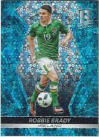 2016-17 Panini Spectra Soccer Base Common Neon Blue Parallel /75 - You Pick