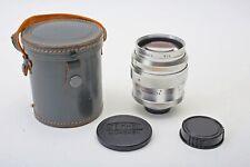 Steinheil 75mm f1.5 Culminon M42 universal Screw Mount 75/1.5 Lens Set+VERY RARE