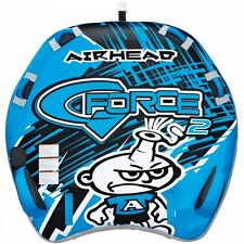 Airhead G-Force 2 Inflatable Water Tube Double Rider Boat Tow Towable AHGF-2