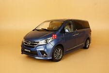 1/18 ALL NEW MAXUS G10 mpv blue color diecast model