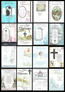 QUALITY ~ CONFIRMATION CARD ~ Great Selection of titles and designs - L@@K