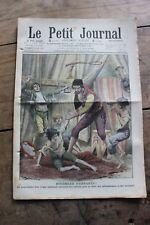 Petit journal dibujada Nº936 1908 Circo vendedor ambulante niñas