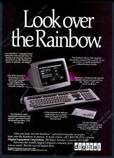 1983 DEC Digital Rainbow personal computer photo vintage print ad