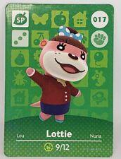bLottie #017 Animal Crossing Amiibo Card
