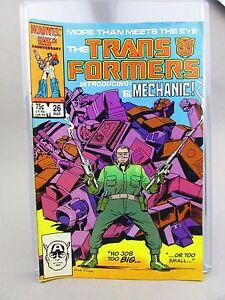 The Transformers #26 1987 Marvel Comics
