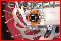 EVOTECH COPPIA BLOCCHETTI TENDICATENA AXIAL CHAIN BLOCK KTM 690 SMC