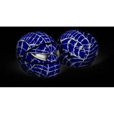SKULLSKIN Streetskin Fundas para Cascos Moto Azul - Wired Web Blue