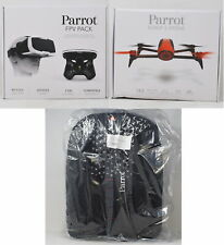 Parrot Bebop 2 FPV Fly More Pack Complete Red Drone Bundle With Backpack