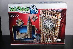 Wrebbit 3D Big Ben Jigsaw Puzzle - 890 Pieces