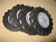 "4 K'Nex Knex Wheels 3.5"" (2)"