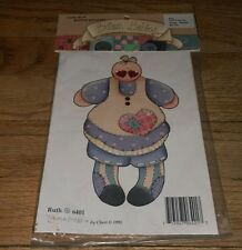 Cute As A Button Presents Babies Cheri '93 Ruth 6401 Full Color Iron On Transfer