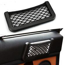 Handy Car Auto Storage Mesh Net Mobile Phone Organizer Bag Holder Pocket