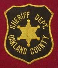 Oakland County, Michigan Sheriff's Department Shoulder Patch