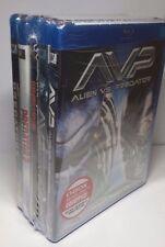 Predator Bundle(Bluray)Predator 1,2/Predator/AVP 1,2-5 Movie Bundle NEW-Free S&H