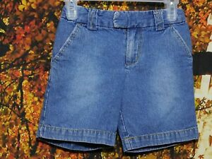 CHILD'S BLUE JEAN SHORTS WITH ADJUSTABLE WAISTBAND BY CIRCO / SIZE XS (4-5)