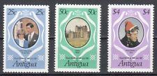 Antigua 628 - 630 postfrisch Hochzeit von Prinz Charles und Lady Diana Spencer