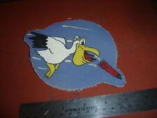 WWII USAAF 67 TH  BOMB SQDN 44 BG PELICAN  8 AAF  FLIGHT JACKET PATCH