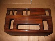 MERCEDES W124 E CLASS COUPE,SALOON,ESTATE WOOD CLIMATE DASH  DIAL TRIM SURROUND