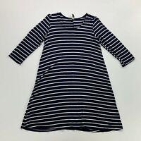 Haut Femme Joules Riviera Robe en Jersey-Gold Block Stripe