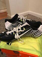 NIKE VAPOR CARBON ELITE 2014 TD FOOTBALL BLACK WHITE 631425 010 CLEATS 13