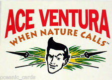 ACE VENTURA WHEN NATURE CALLS TRADING CARDS PROMO PROTOTYPE CARD DONRUSS 1995