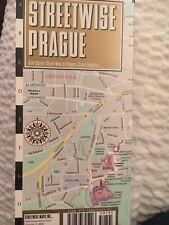 Streetwise Prague, Czech Republic City Center Laminated Street map