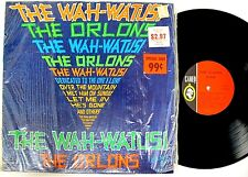 "THE ORLONS~""WAH-WAH-TUSI"" inSHRINK-NEAR MINT"" ORIGINAL 1963 C-1020 CAMEO   LP!!!"