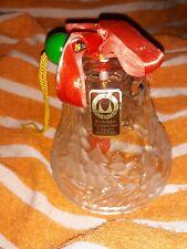'Original Walther Glas Christmas Bell. Kristallglas.' German (Crystal) bell.