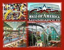 Minnesota - MALL OF AMERICA - Travel Souvenir Magnet