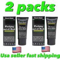2PACKS Shills deep Cleansing Black MASK peel-off Facial Clean Blackhead Remover