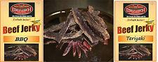 Biltong Trockenfleisch Probierpaket BBQ + TERIYAKI