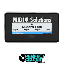 MIDI Solutions Quadra Thru 4 Output Thru Box INTERFACE - NEW - PERFECT CIRCUIT