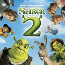 Shrek 2 Film Soundtrack CD NEW SEALED Tom Waits/Nick Cave/Eels/Counting Crows+