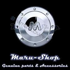 Chrome Fuel Gas Filler Door Cap Cover Trim for 05~09 Chevrolet Spark/Matiz
