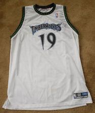 SAM CASSELL 19 Minnesota Timberwolves jersey size 60 NBA Reebok white SEWN VHTF