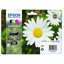 1 Set De Originales Epson Xp-30 xp-225 xp-322 xp-405wh xp-412 xp-422 Cartuchos De Tinta