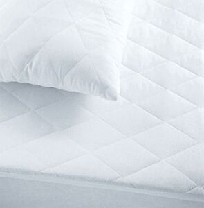 MATTRESS PROTECTOR QUILTED MATTRESS PROTECTOR ALL SIZES FITTED BED COVER